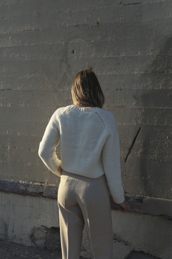 Objects Without Meaning Raglan Sweater, Oat