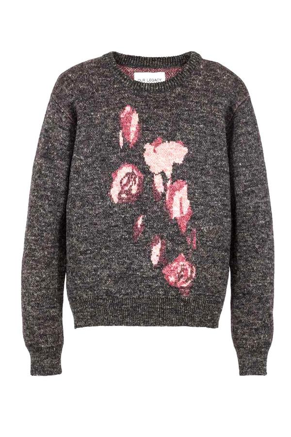 Men's OUR LEGACY - Jacquard Roses Knit