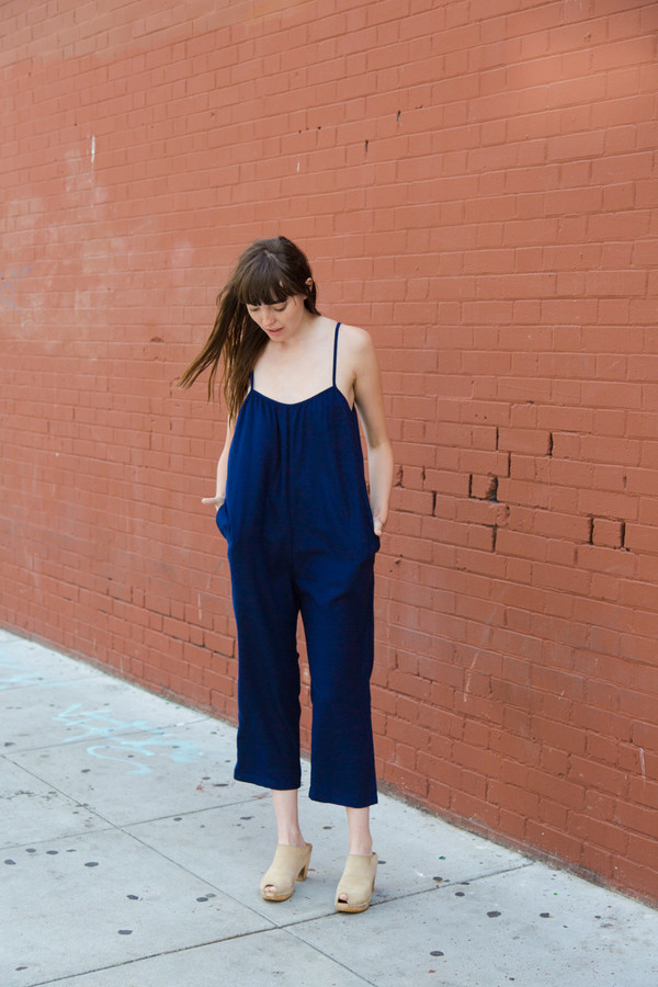 Lindsay Robinson Sol Jumpsuit in Navy