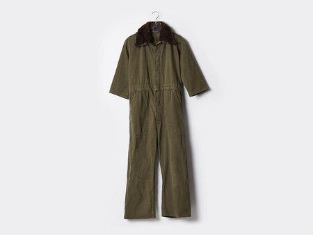 Harvey Faircloth Faux Fur Jumpsuit