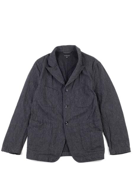 Men's Engineered Garments Bedford Jacket Charcoal Wool Serge