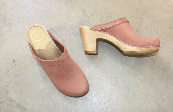 No.6 Old School Clog in Blush
