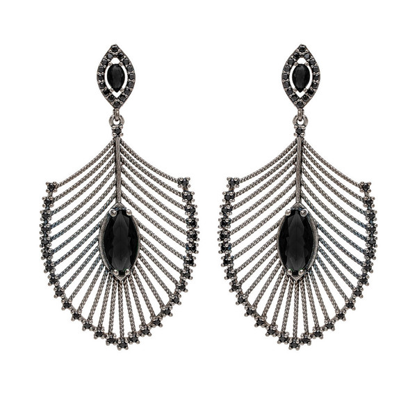 Nickho Rey Peacock Earring