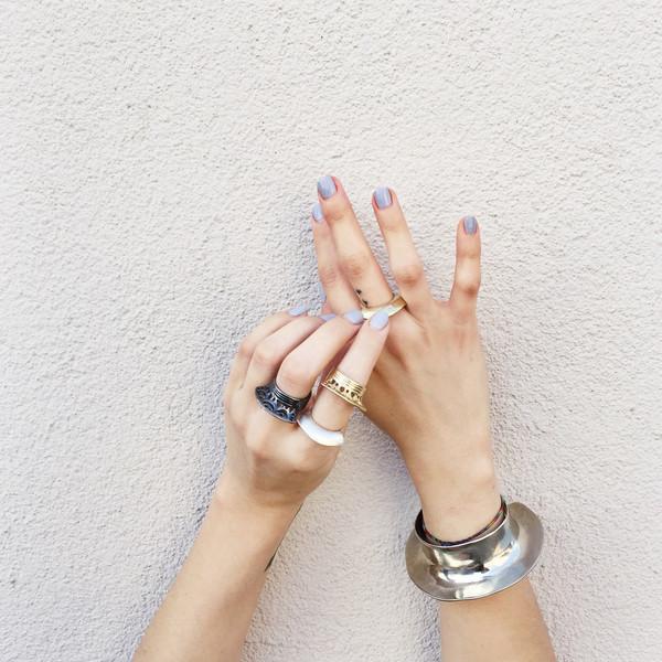 Ariana Boussard-Reifel Despina Cuff in White Brass