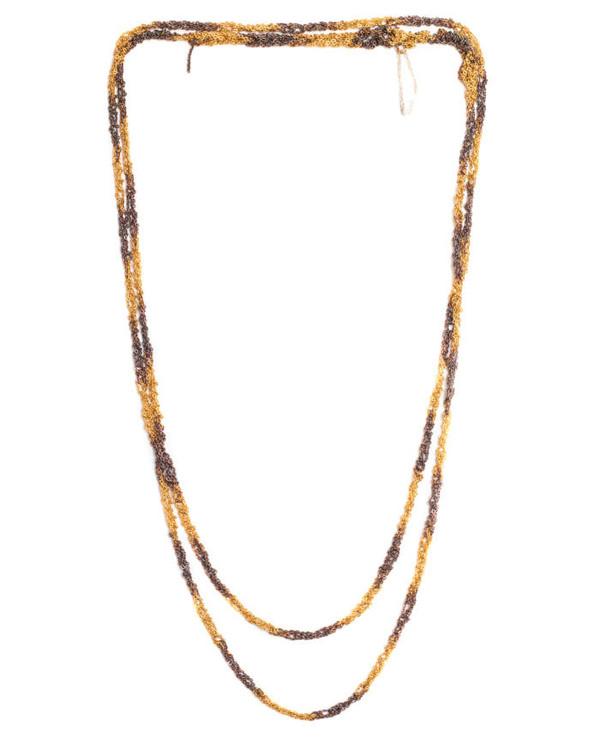 Arielle De Pinto Dalmation Simple Necklace in Gold