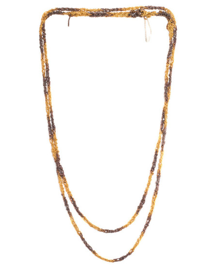 Arielle De Pinto Dalmation Simple Necklace in Gold