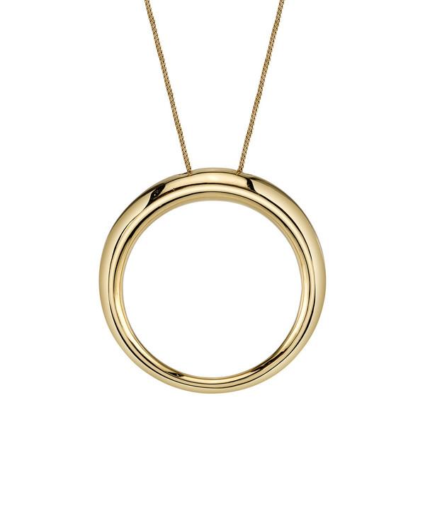 Gabriela Artigas Rising Tusk Pendant in Gold