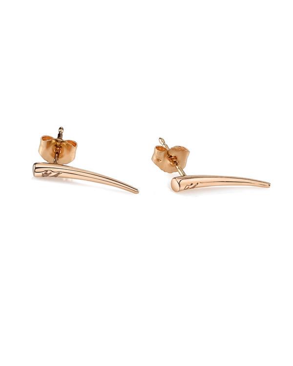 Gabriela Artigas Tusk Drop Down Earrings in 14K Rose Gold