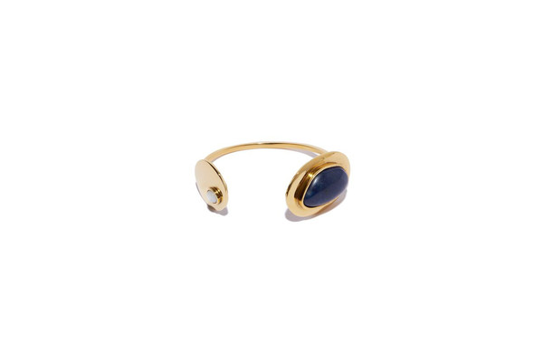 Lizzie Fortunato Calder Cuff in Gold