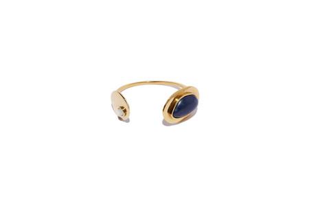 Lizzie Fortunato Calder Cuff in Gold