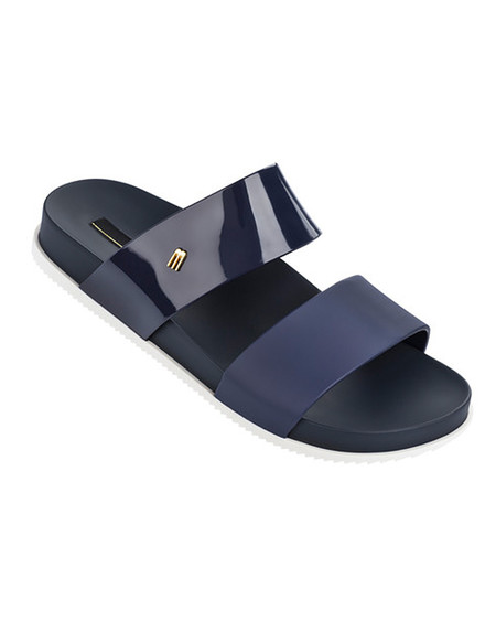 Melissa Cosmic Sandal in Navy