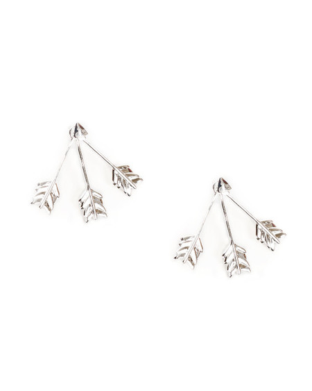 Pamela Love Triple Arrow Ear Jacket in Sterling Silver