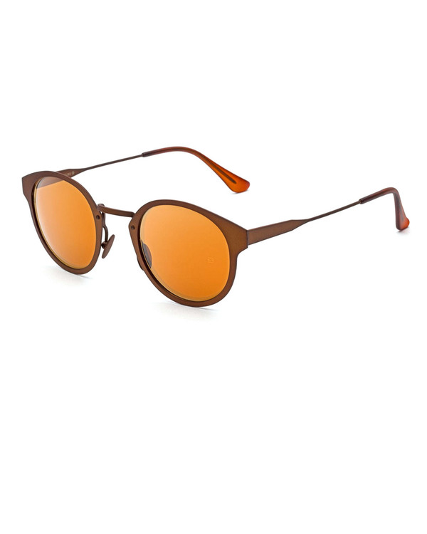 RetroSuperFuture Panama Synthesis Sunglasses in Bronze