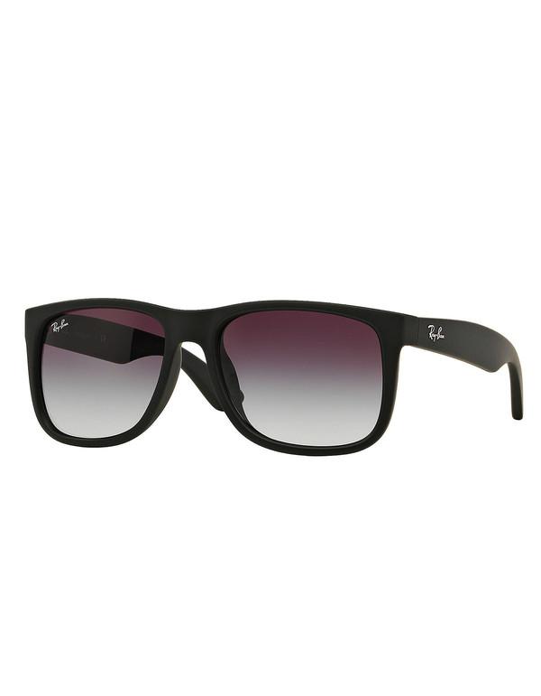 Ray-Ban Justin Sunglasses Black Rubber