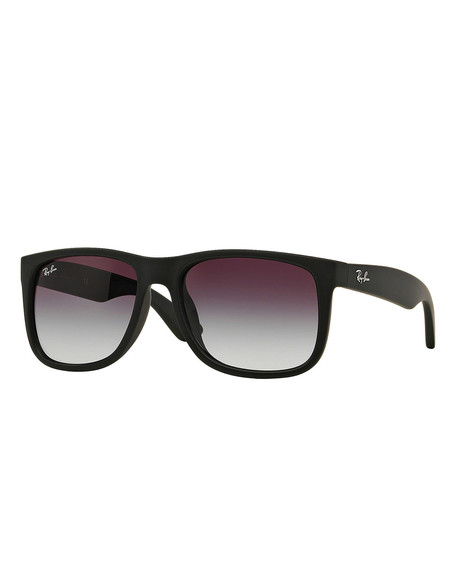Ray-Ban Justin Sunglasses Black Rubber