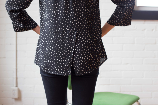 Dagg & Stacey Eugenia Blouse (Black)