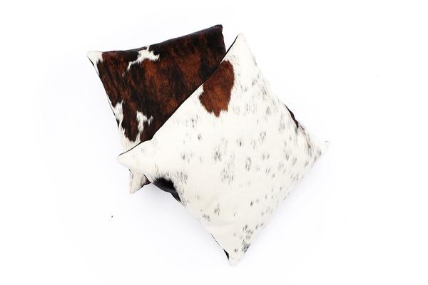 Primecut Tricolor Cowhide Pillow
