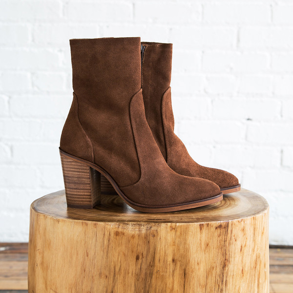 Crosswalk Castana Ankle Boot Tan