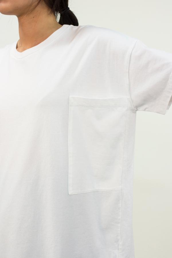 Universal Tissu Basic Tee- White
