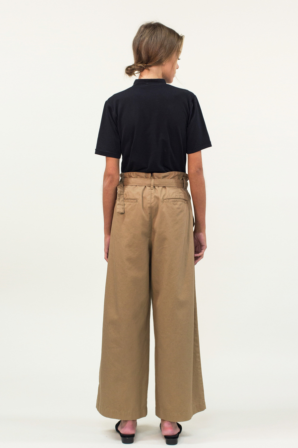 Universal Tissu Wide Leg Pants- Mocha