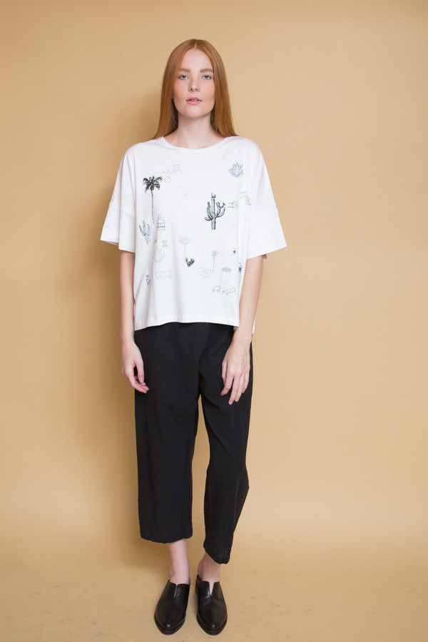 Kowtow On the Road Top - White