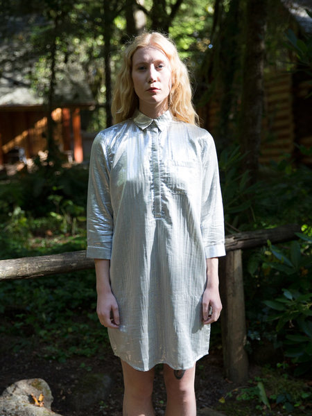 Wray Silver Painter Dress
