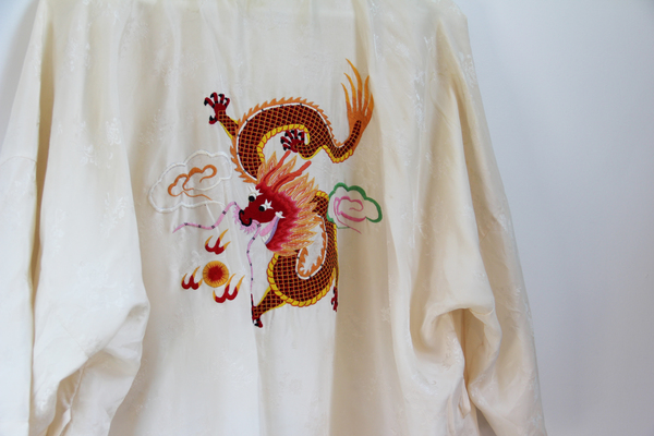 Hey Jude Vintage Silk Dragon Kimono
