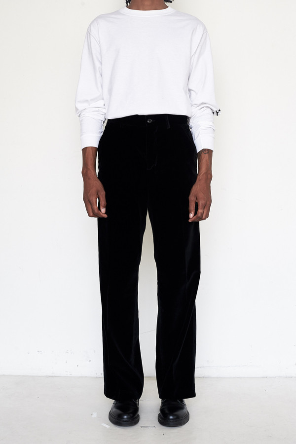 Men's Our Legacy Velvet Sailor Pants