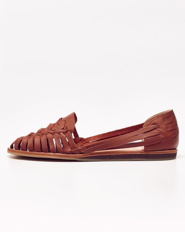 Nisolo Ecuador Huarache Sandal Burnt Sienna - What's It Worth