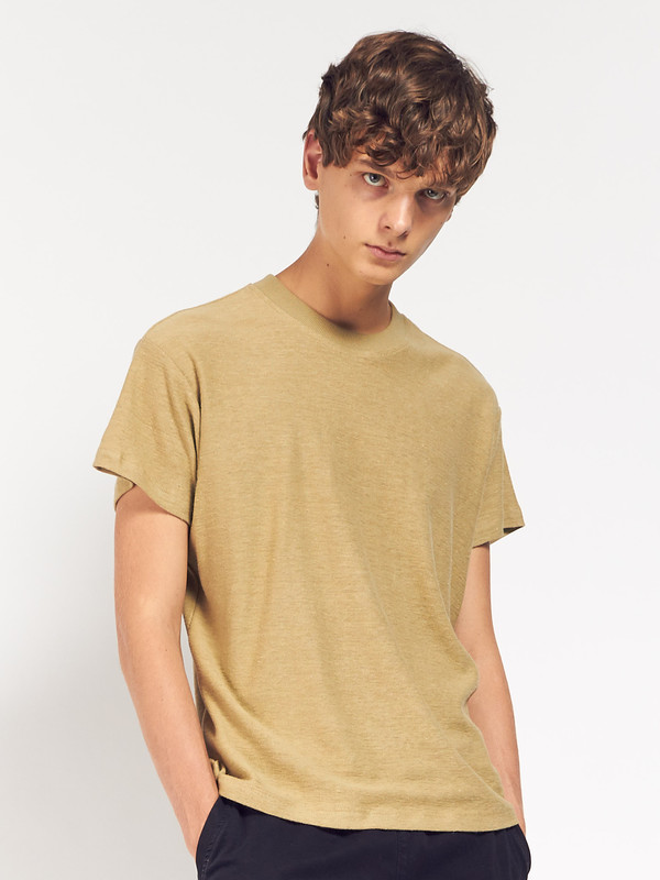 Men's Fanmail Boxy Tee Olive Gray