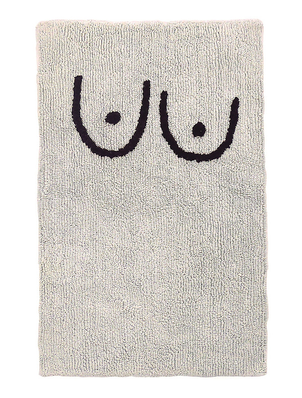 "Cold Picnic ""Boobs"" Bath Mat"
