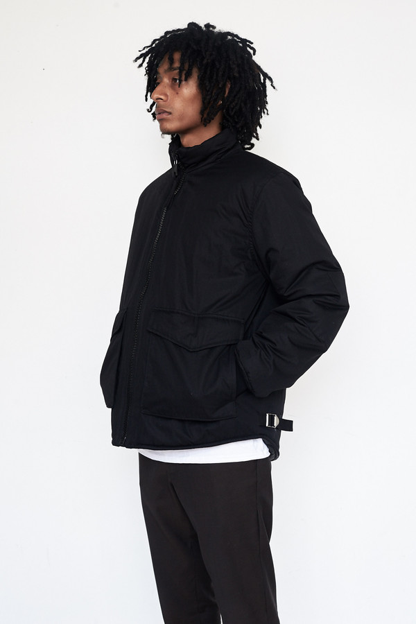 Men's Our Legacy Cotton Puffed Funnel Jacket