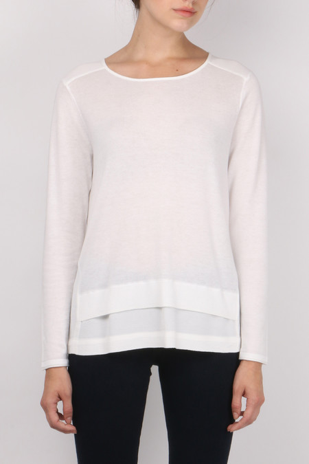 Sita Murt Crepe Back Sweater