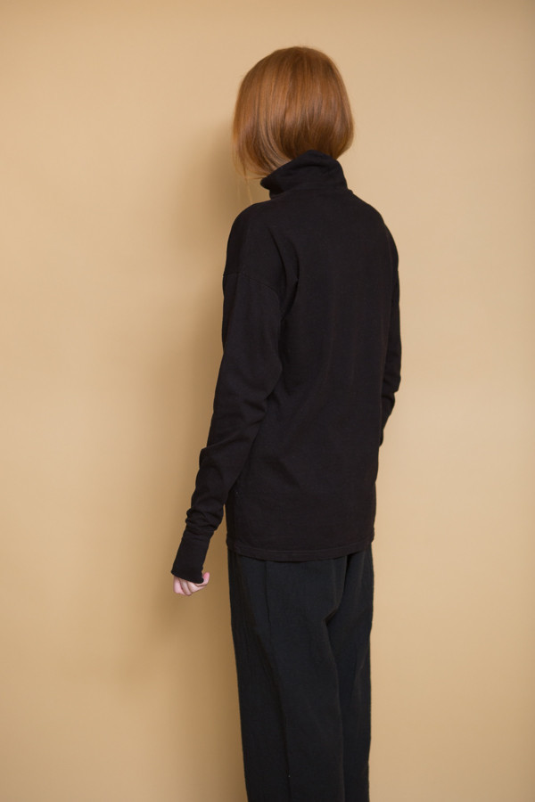 OAK Drop Shoulder Turtleneck