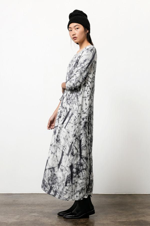 Nima Dress in Broken Barcode