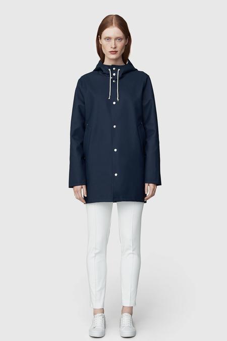 STUTTERHEIM Stockholm Rain Jacket- Navy