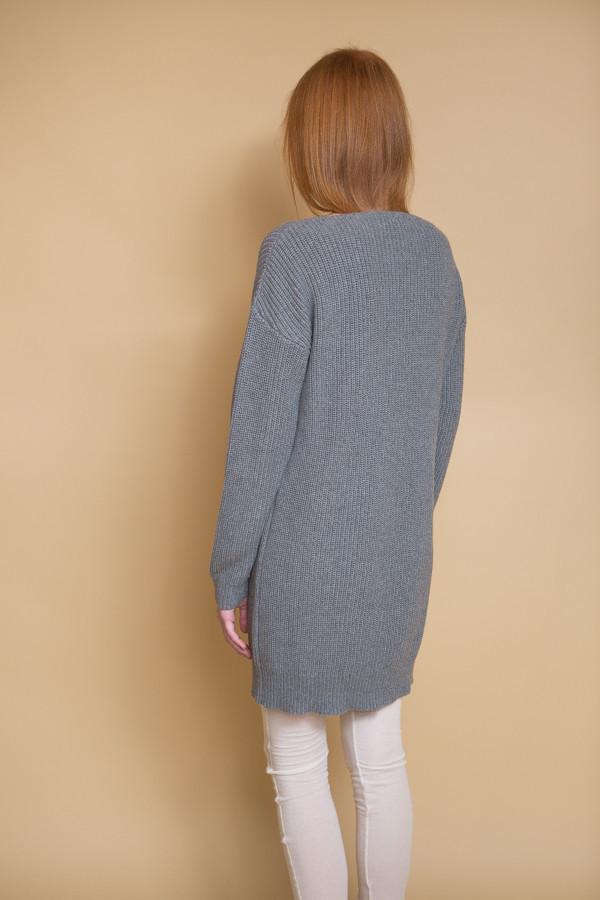 Callahan Crewneck Dress - Grey