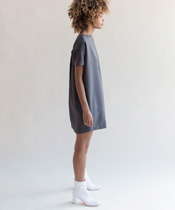 Kaarem Angle Mini Dolman Dress