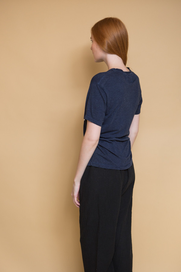 Olderbrother Sonora Tee OB Logo / Dark Indigo