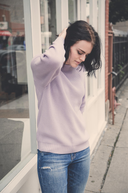 Diarte Jasper Sweater in Lilac