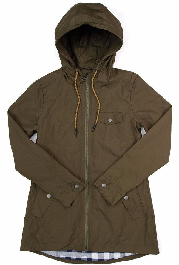Bridge & Burn Warbler Waxed Rain Jacket