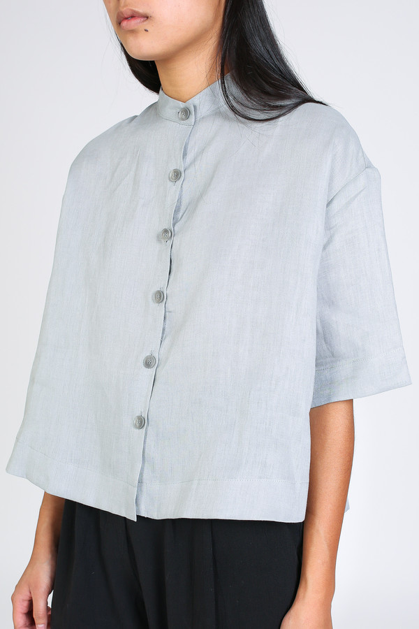 Ursa Minor Tilly blouse in dove grey