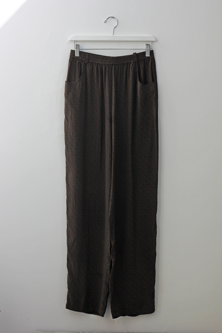 Hey Jude 70's Print Silk Trouser