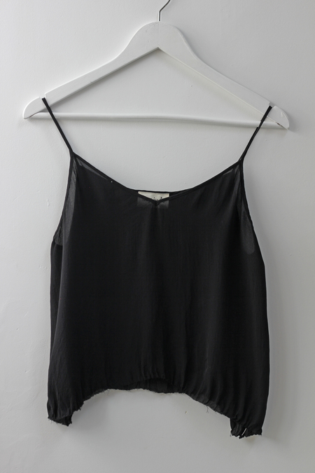 Hey Jude Sheer Raw-cut Tank