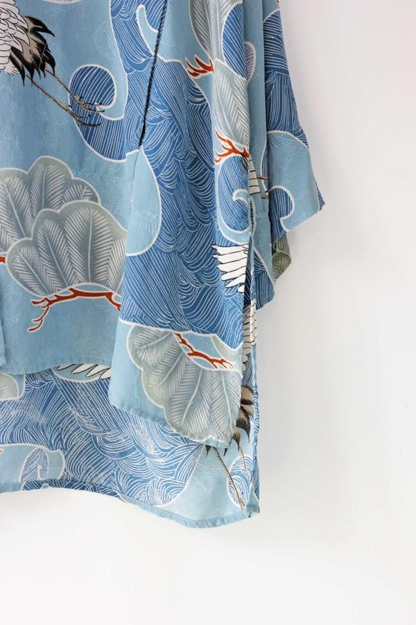 Hey Jude Art Deco Silk Robe