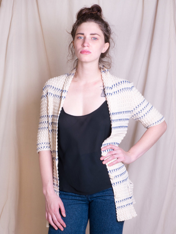 DUO NYC Vintage Cacharel Knit Cardigan