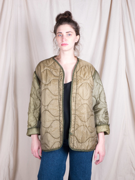 DUO NYC Vintage Quilted Liner Jacket