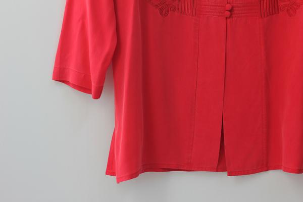Hey Jude Vintage Brushed Silk Tunic