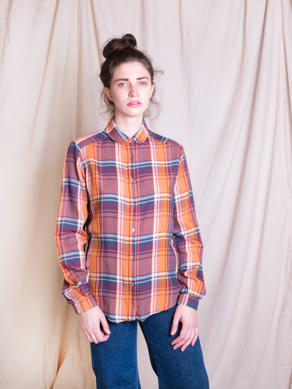 Woods Vintage Plaid Buttondown Shirt