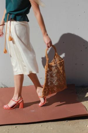 O-M Vintage | Woven Market Bag